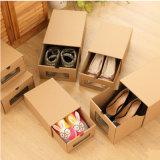 Matériel de stockage personnalisée boîte à chaussures /l'emballage en carton