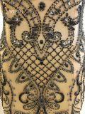 Высокое качество тяжелых валика клея вечер платья для женщин
