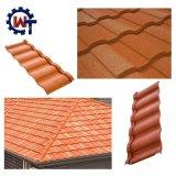 容易な構築の石の上塗を施してある金属のドイツの屋根瓦