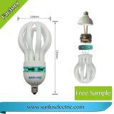 Energiesparende Birnen-Lampe der Leistungs-E27 B22 17mm CFL-Lotus-85W