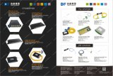8+1 Wdm CWDM Mux/Demux van de Vezel van kanalen Passieve Optische Multiplextelegraaf