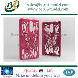 Caisse en plastique de téléphone de l'impression 3D de SLA et de SLS, prototypage de Rapid de l'impression 3D