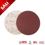 Il disco del Velcro dell'ossido di alluminio per il polacco del legname grezzo, rimuove la vernice e la ruggine