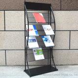 Libre 4 couches déformés magazine Livre d'étagère Stand
