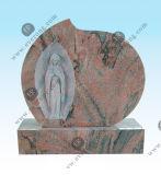 Granito por atacado que cinzela Monuments&Tombstone em estilos americanos