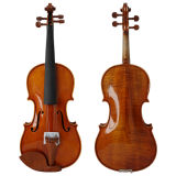 Rouge brillant Brown Professional le violon avec Buis Cordier