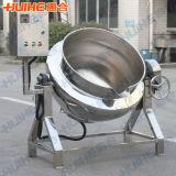 Aquecimento elétrico que inclina a chaleira de Jaketed (fogão sem misturador)