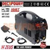 L'Amérique 110V/220V normal conjuguent la machine de soudure de l'inverseur MMA de tension (ZEUS-200X)