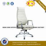 Готов к офисной мебели хром металлический из натуральной кожи ног/PU стул для посетителей (NS-9044C)
