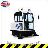 Small Electric Wrinkles one Path Cleaning Machine Street Road Sweeper