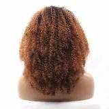 黒人女性のためのアフリカ系アメリカ人のねじれた巻き毛のレースの前部かつら