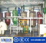 Refinería de petróleo vegetal de germen de girasol del germen de la semilla de algodón de la soja/del cacahuete