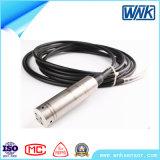 Sensore livellato di IP68 4~20mA/Modbus Sumbersible con il cavo di PTFE per il media corrosivo