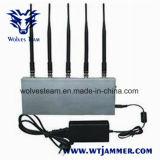Brouilleur de dresseur de signal de téléphone cellulaire de 5 bandes