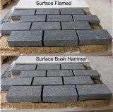 G684 de la Chine Finisseur de granit noir pour le pavage de plein air