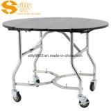 Entfernbare faltende Gast-Zimmerservice-Laufkatze/Tisch für Hotelzimmer (SITTY 90.8302-1)