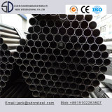 Rundes schwarzes getempertes Stahlrohr des Kohlenstoff-Q195 für Stahlmöbel