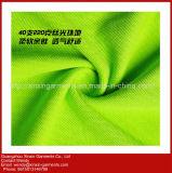 Maglietta normale su ordinazione di stampa dello schermo del cotone all'ingrosso poco costoso (P242)