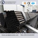 Q195 углерода раунда колпачок клеммы втягивающего реле черного цвета стальную трубу для стальных мебель