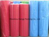 최신 판매 8-350GSM에 의하여 주문을 받아서 만들어지는 색깔 PP Spunbonded 부직포 직물