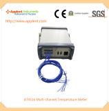 A ponta de prova da temperatura do registador de dados suporta oito tipos (AT4516)