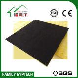 Schwarze Dichte-akustische Glaswolle-Decken-Fliese der Farben-100kg