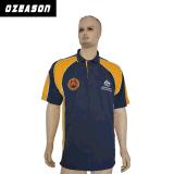 La conception de l'été Mens plaine T-shirt Polo de golf de broderie (P001)