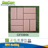Telha ao ar livre Anti-UV de bloqueio composta impermeável do Decking do revestimento WPC DIY