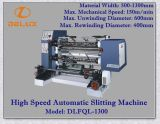Cortadora automática de alta velocidad con la desenrolladora y Rewinder (DLFQW-1300D)