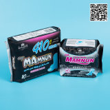 Cosmétique naturelle Coton serviette hygiénique/électrodes multifonctions OEM ODM Femmes Lady Pad