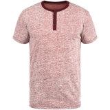 قميص غير رسمي بتصميم الجملة للرجال بلون صلب رفيع عالي الجودة