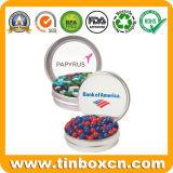 Миниая малая конфета Mints коробка олова с ясным прозрачным окном