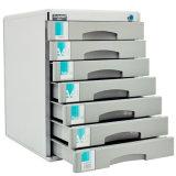 Grande metallo di memoria 7-Drawers di colore d'argento che chiude il Governo a chiave di archivio