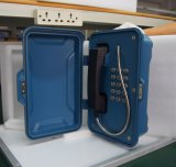 Telefones ao ar livre Emergency, caixa de atendimento do SOS, telefones da borda da estrada do estrada da estrada