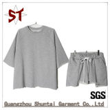 Vestiti Short-Sleeved di Hoodies di usura esterna su ordinazione di sport per le donne