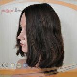 Peruca humana do cabelo do Virgin da parte alta (PPG-l-0866)