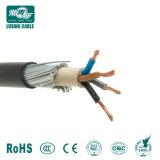 4 núcleos 16mm do cabo de alimentação blindados dos cabos eléctricos