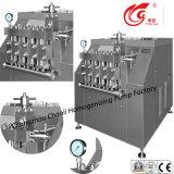 Grand, 7000L/H, acier inoxydable, se mélangeant, homogénisateur de laiterie