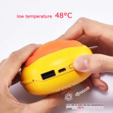 Vente chaude du côté 6000mAh de pouvoir de réchauffeur de main de canard du jaune B. de dessin animé d'approvisionnement d'usine mini pour le cadeau de Noël