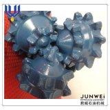 Trépanos de sondeo rotatorios molidos del receptor de papel de agua del rodillo de la roca tricónica del diente