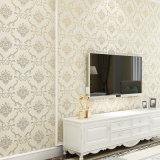 Papel de empapelar del PVC, hoja del suelo del PVC, Wallcovering, decoración de la pared, tela de la pared del PVC, papel pintado del PVC