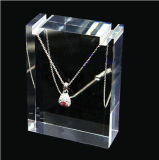 Qcy 2018 Hot Sale beaux bijoux acrylique claire Dispiay personnalisés