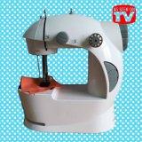 Mini máquina de coser de costura portable del hogar de la máquina de coser
