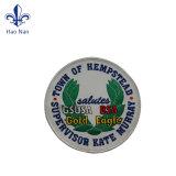 Eco-Friendly etiqueta adesiva tecidos tecidos Patch Badge Etiqueta de roupa