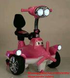 고품질 2 바퀴 번쩍이는 바퀴 음악 전기 아이 기관자전차
