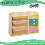 L'école six étagères de partition en bois coloré (HG-5402)