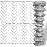 工場価格50X50mmは鋼線のチェーン・リンクワイヤーに電流を通した