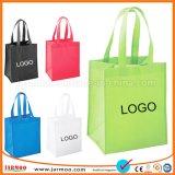 À la mode de faire connaître le logo d'impression transporter des sacs non tissé