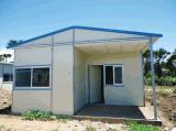Casa modular prefabricada de la estructura de acero de los surtidores de China