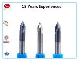HRC55 90° Perforación de la punta del CNC del carburo